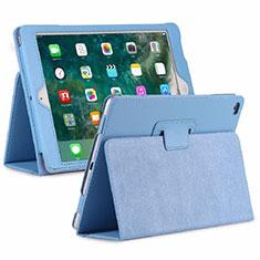 Custodia Portafoglio In Pelle Cover con Supporto L04 per Huawei MediaPad M6 8.4 Cielo Blu