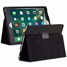 Custodia Portafoglio In Pelle Cover con Supporto L04 per Huawei MediaPad M6 8.4 Nero