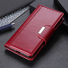 Custodia Portafoglio In Pelle Cover con Supporto L04 per Huawei Y8s Rosso Rosa
