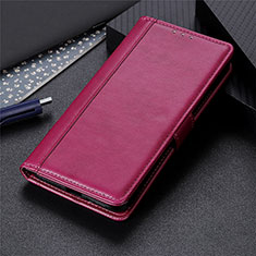 Custodia Portafoglio In Pelle Cover con Supporto L04 per LG K92 5G Rosso Rosa