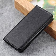 Custodia Portafoglio In Pelle Cover con Supporto L04 per Samsung Galaxy S21 5G Nero