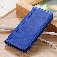 Custodia Portafoglio In Pelle Cover con Supporto L04 per Sharp AQUOS Sense4 Plus Blu