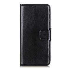 Custodia Portafoglio In Pelle Cover con Supporto L04 per Xiaomi Mi Note 10 Lite Nero