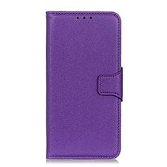 Custodia Portafoglio In Pelle Cover con Supporto L04 per Xiaomi Redmi 9i Viola
