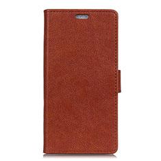 Custodia Portafoglio In Pelle Cover con Supporto L05 per Asus Zenfone Max Plus M1 ZB570TL Rosso Rosa