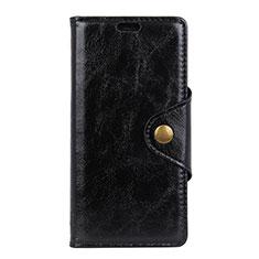Custodia Portafoglio In Pelle Cover con Supporto L05 per Asus Zenfone Max Pro M1 ZB601KL Nero
