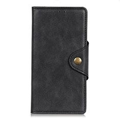 Custodia Portafoglio In Pelle Cover con Supporto L05 per HTC Desire 19 Plus Nero