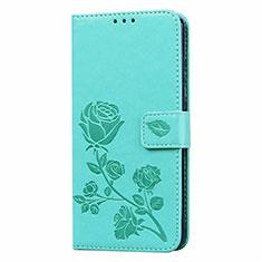 Custodia Portafoglio In Pelle Cover con Supporto L05 per Huawei Honor 9A Verde
