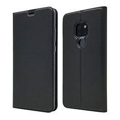 Custodia Portafoglio In Pelle Cover con Supporto L05 per Huawei Mate 20 Nero