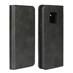 Custodia Portafoglio In Pelle Cover con Supporto L05 per Huawei Mate 20 Pro Nero