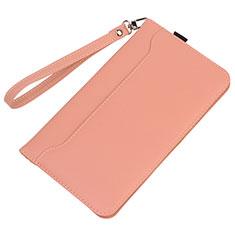 Custodia Portafoglio In Pelle Cover con Supporto L05 per Huawei MatePad 10.4 Rosa