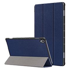 Custodia Portafoglio In Pelle Cover con Supporto L05 per Huawei MatePad 10.8 Blu