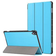 Custodia Portafoglio In Pelle Cover con Supporto L05 per Huawei MatePad 10.8 Cielo Blu