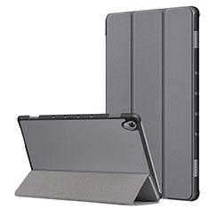 Custodia Portafoglio In Pelle Cover con Supporto L05 per Huawei MatePad 10.8 Grigio
