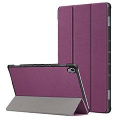 Custodia Portafoglio In Pelle Cover con Supporto L05 per Huawei MatePad 10.8 Viola