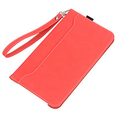 Custodia Portafoglio In Pelle Cover con Supporto L05 per Huawei MatePad 5G 10.4 Rosso