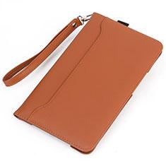 Custodia Portafoglio In Pelle Cover con Supporto L05 per Huawei MatePad Arancione
