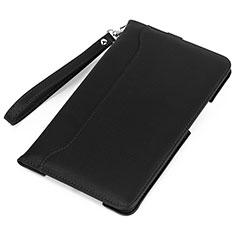 Custodia Portafoglio In Pelle Cover con Supporto L05 per Huawei MatePad Nero