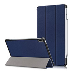 Custodia Portafoglio In Pelle Cover con Supporto L05 per Huawei MatePad Pro Blu