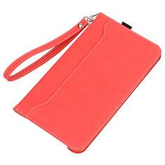 Custodia Portafoglio In Pelle Cover con Supporto L05 per Huawei MatePad Rosso