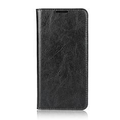 Custodia Portafoglio In Pelle Cover con Supporto L05 per Huawei Nova 4e Nero