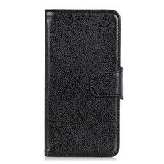 Custodia Portafoglio In Pelle Cover con Supporto L05 per LG Q52 Nero