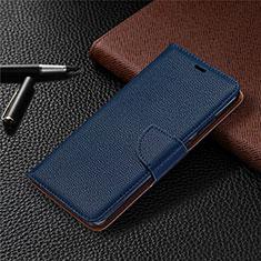 Custodia Portafoglio In Pelle Cover con Supporto L05 per Nokia 5.3 Blu