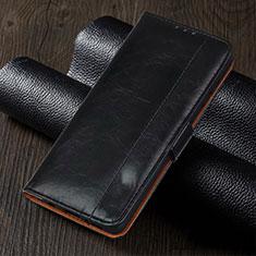 Custodia Portafoglio In Pelle Cover con Supporto L05 per Oppo Reno4 Z 5G Nero