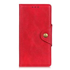 Custodia Portafoglio In Pelle Cover con Supporto L05 per Realme 6 Pro Rosso