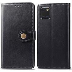 Custodia Portafoglio In Pelle Cover con Supporto L05 per Samsung Galaxy A81 Nero
