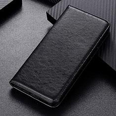 Custodia Portafoglio In Pelle Cover con Supporto L05 per Samsung Galaxy M21 Nero