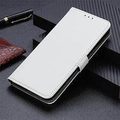 Custodia Portafoglio In Pelle Cover con Supporto L05 per Sharp AQUOS Sense4 Plus Bianco