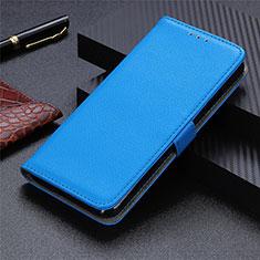 Custodia Portafoglio In Pelle Cover con Supporto L05 per Sharp AQUOS Sense4 Plus Cielo Blu
