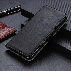 Custodia Portafoglio In Pelle Cover con Supporto L05 per Sharp AQUOS Sense4 Plus Nero