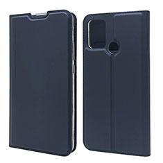 Custodia Portafoglio In Pelle Cover con Supporto L06 per Huawei Honor 9A Blu