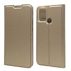 Custodia Portafoglio In Pelle Cover con Supporto L06 per Huawei Honor 9A Oro
