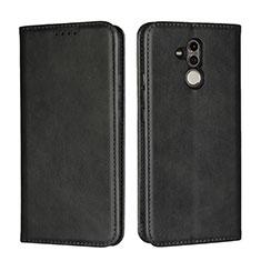 Custodia Portafoglio In Pelle Cover con Supporto L06 per Huawei Mate 20 Lite Nero
