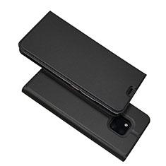 Custodia Portafoglio In Pelle Cover con Supporto L06 per Huawei Mate 20 Pro Nero