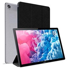 Custodia Portafoglio In Pelle Cover con Supporto L06 per Huawei MatePad 10.8 Nero