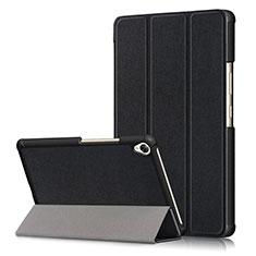 Custodia Portafoglio In Pelle Cover con Supporto L06 per Huawei MediaPad M6 8.4 Nero