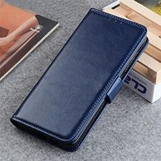 Custodia Portafoglio In Pelle Cover con Supporto L06 per LG K22 Blu