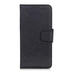 Custodia Portafoglio In Pelle Cover con Supporto L06 per OnePlus 7T Pro Nero