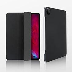Custodia Portafoglio In Pelle Cover con Supporto L07 per Apple iPad Pro 11 (2020) Nero