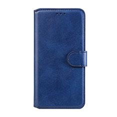 Custodia Portafoglio In Pelle Cover con Supporto L07 per Huawei Honor 9A Blu