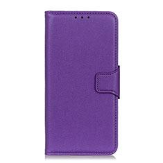 Custodia Portafoglio In Pelle Cover con Supporto L07 per Huawei Honor 9X Lite Viola