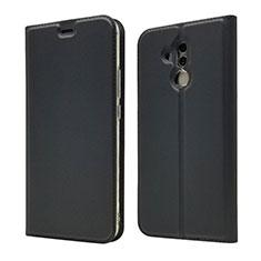 Custodia Portafoglio In Pelle Cover con Supporto L07 per Huawei Mate 20 Lite Nero