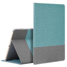 Custodia Portafoglio In Pelle Cover con Supporto L07 per Huawei MediaPad M6 10.8 Ciano