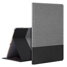 Custodia Portafoglio In Pelle Cover con Supporto L07 per Huawei MediaPad M6 10.8 Grigio