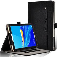 Custodia Portafoglio In Pelle Cover con Supporto L07 per Huawei MediaPad M6 8.4 Nero