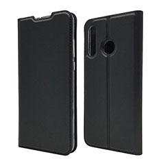 Custodia Portafoglio In Pelle Cover con Supporto L07 per Huawei P30 Lite Nero